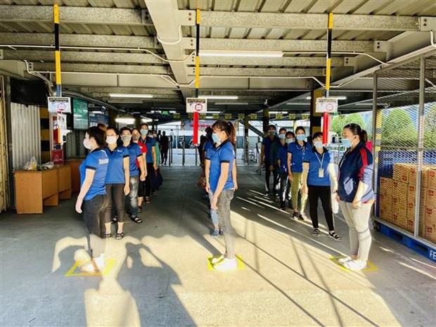 Binh Duong: Doanh nghiep FDI kiem tra suc khoe hang ngay cho cong nhan hinh anh 1