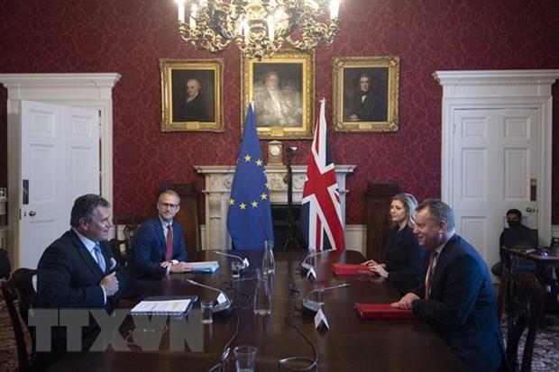 EU se dap tra neu Anh van hoan thuc thi Nghi dinh thu Bac Ireland hinh anh 1