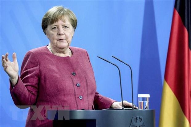 Duc thong bao ke hoach tham My cua Thu tuong Angela Merkel hinh anh 1