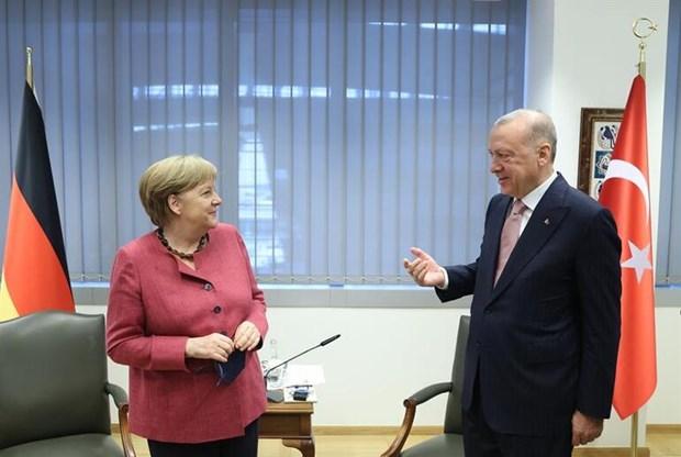 Hoi nghi NATO: Tho Nhi Ky hy vong cai thien quan he voi Hy Lap hinh anh 1