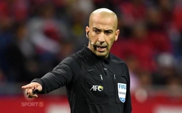 AFC bo tri trong tai nguoi Iraq bat chinh tran UAE-Viet Nam hinh anh 1