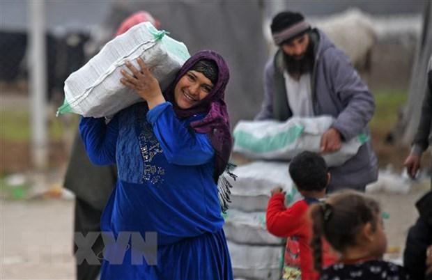 OCHA: Hang trieu nguoi dan Syria can duoc vien tro nhan dao hinh anh 1