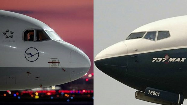 Anh-My dat thoa thuan dinh chien lien quan den Airbus va Boeing hinh anh 1