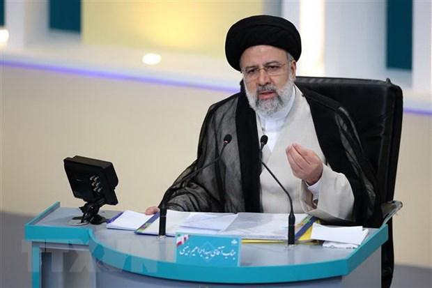 Bau cu Tong thong Iran: Ung cu vien Ebrahim Raisi dan dau hinh anh 1