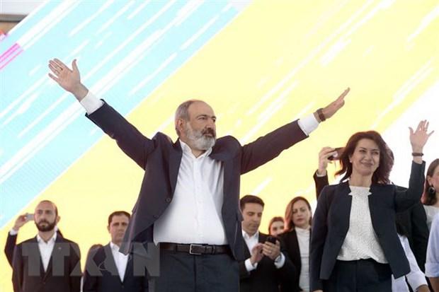 Thu tuong Pashinyan keu goi doan ket xay dung dat nuoc Armenia moi hinh anh 1