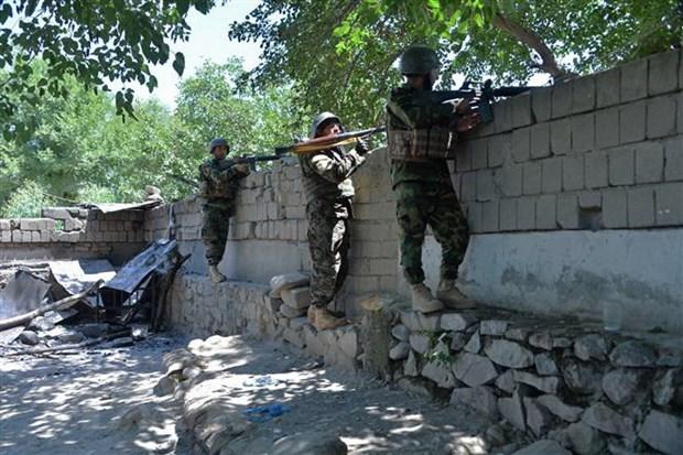 Taliban tuyen bo chiem duoc cua khau Afghanistan-Turkmenistan hinh anh 1