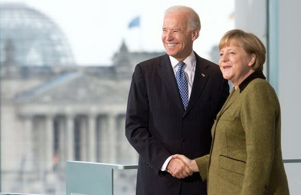Thu tuong Duc Angela Merkel sap co chuyen tham My hinh anh 1