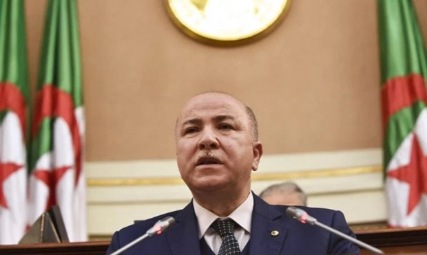 Tan Thu tuong Algeria co ket qua duong tinh voi virus SARS-CoV-2 hinh anh 1