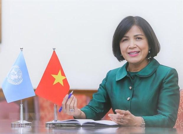 Hoi dong Nhan quyen LHQ thong qua 2 nghi quyet do Viet Nam de xuat hinh anh 2