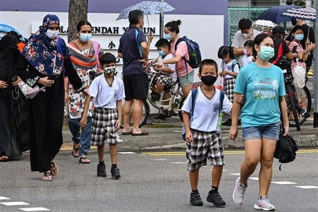 Da so cac ca mac moi tai Singapore da tiem vaccine, khong ai bi nang hinh anh 1