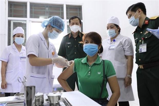 Tiem thu nghiem vaccine Nano Covax mui 2 giai doan ba cho 12.000 nguoi hinh anh 1
