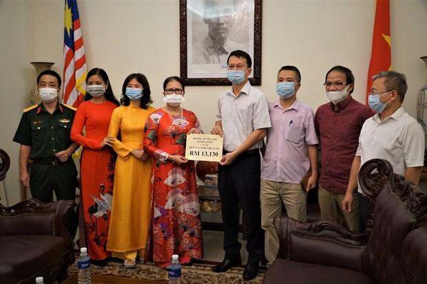 Dai su quan Viet Nam tai Malaysia tiep nhan ung ho Quy vaccine hinh anh 1