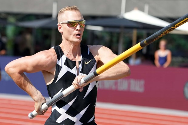 Ngoi sao nhay sao nguoi My chia tay Olympic do mac COVID-19 hinh anh 1