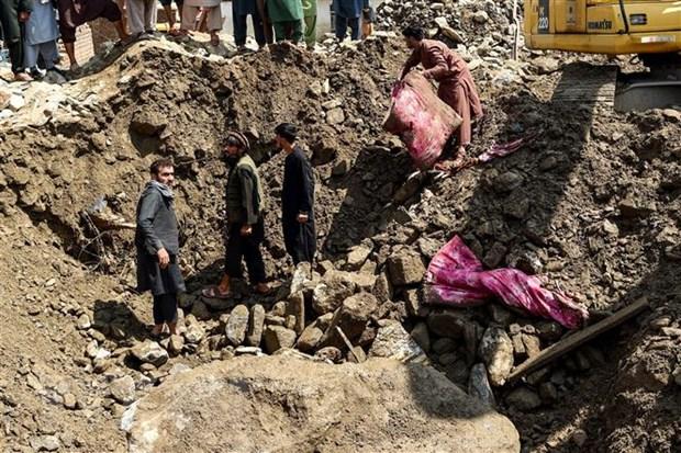 Afghanistan: Lu quet khien 40 nguoi tu vong va 150 nguoi mat tich hinh anh 1