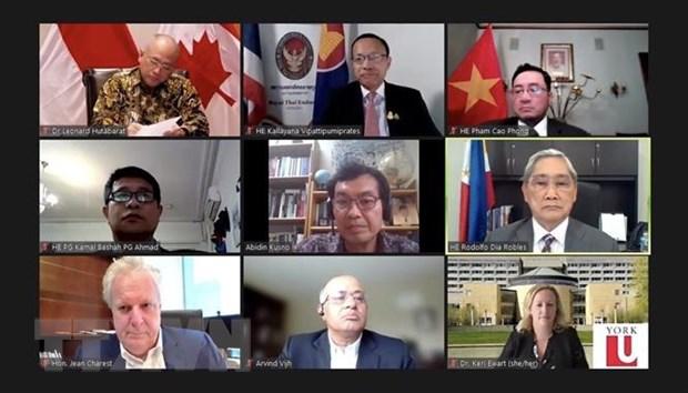 Ket noi Canada-ASEAN: Viet Nam neu mot so de xuat hop tac hinh anh 1