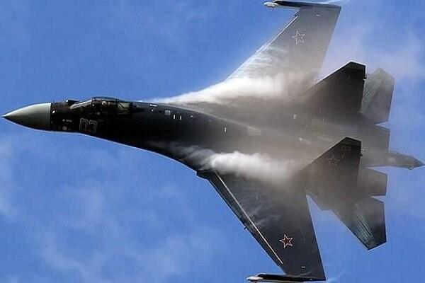 Mot chien dau co Su-35S gap su co ve dong co o khu vuc Vien Dong Nga hinh anh 1