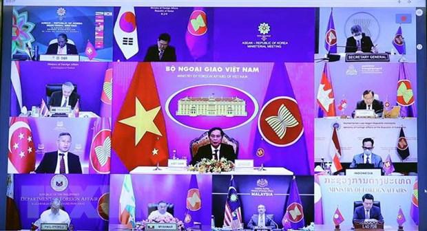 Viet Nam tiep nhan vai tro dieu phoi quan he ASEAN-Han Quoc hinh anh 2