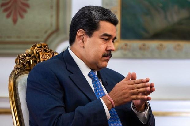 Doi thoai giua chinh phu Venezuela va phe doi lap dien ra tai Mexico hinh anh 1