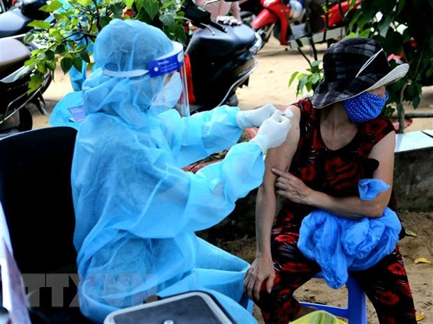 Dong Nai, Tra Vinh, Tay Ninh day nhanh tien do trien khai tiem vaccine hinh anh 1