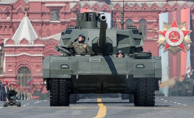 Quan doi Nga sap tiep nhan 20 xe tang T-14 Armata moi nhat hinh anh 1