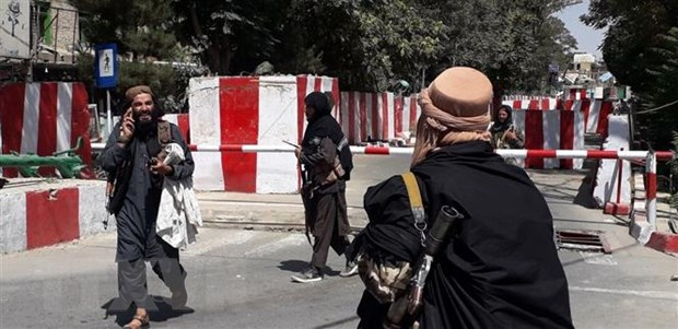 Taliban tien sat thu do Kabul, NATO hop khan ve tinh hinh Afghanistan hinh anh 1