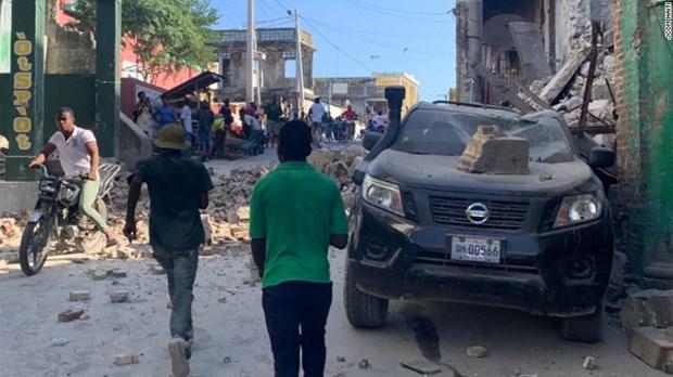 Haiti: 227 nguoi thiet mang do dong dat, ban bo tinh trang khan cap hinh anh 1