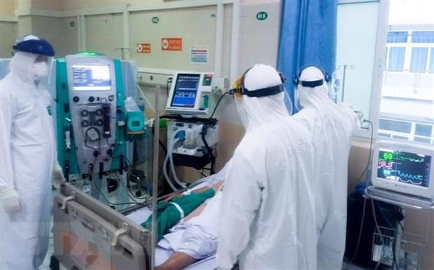 Khu điều trị bệnh nhân COVID-19. (Ảnh: TTXVN phát)