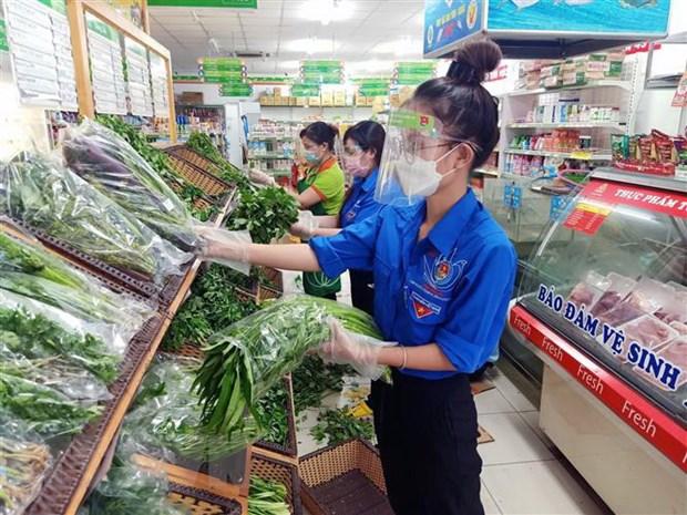 TP. HCM: Hang hoa san sang tai sieu thi nhung vuong khau van chuyen hinh anh 1