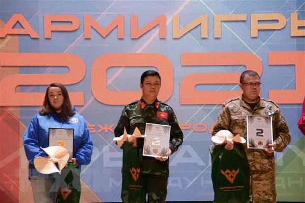 Army Games 2021: Doan Quan doi nhan dan Viet Nam ghi dau an manh me hinh anh 2