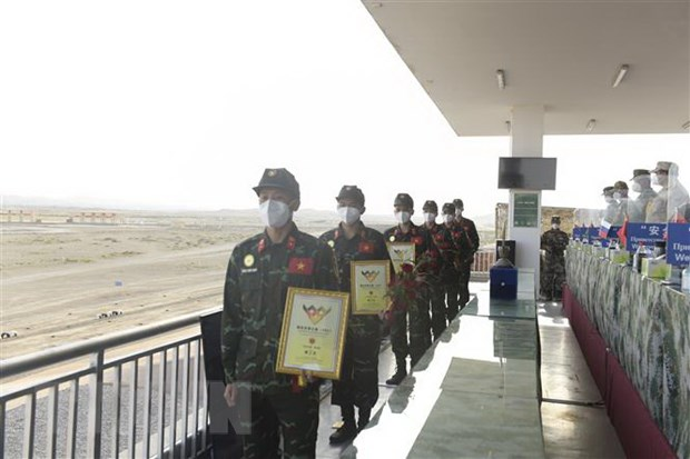 Army Games 2021: Doan Quan doi nhan dan Viet Nam ghi dau an manh me hinh anh 1