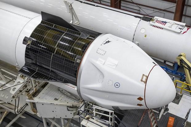 SpaceX chuan bi dua 4 phi hanh gia khong chuyen len vu tru hinh anh 2