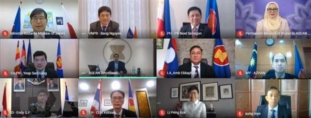 ASEAN va Nhat Ban tang no luc huong toi phuc hoi hau COVID-19 hinh anh 1