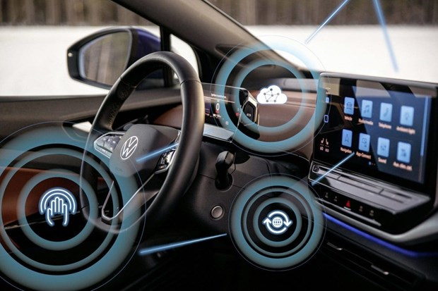 Volkswagen gioi thieu ban cap nhat khong day cho oto dien hinh anh 1