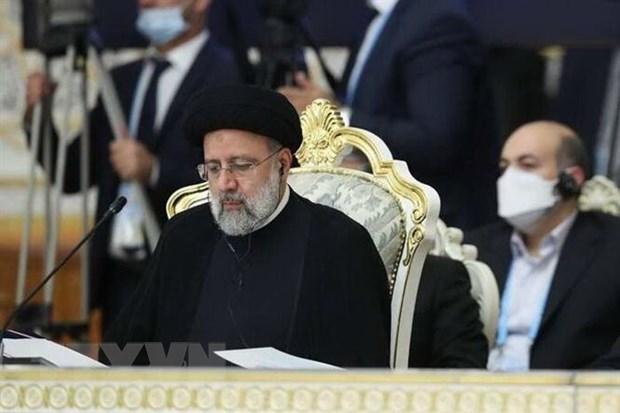 Iran cam ket khong cho phep IS hien dien o khu vuc bien gioi hinh anh 1
