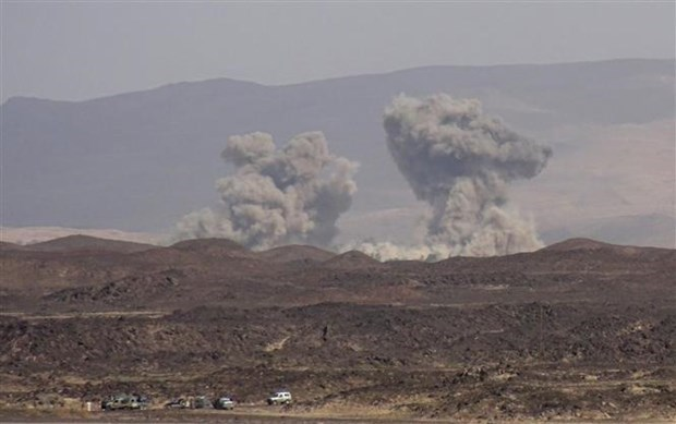Yemen: Lien quan Arab khong kich khien 7 dan thuong thiet mang hinh anh 1