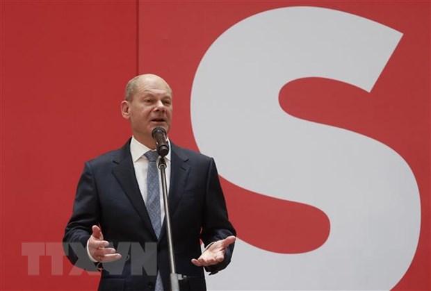 Duc: Lanh dao SPD mong muon xay dung EU vung manh hon hinh anh 1