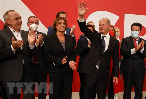 Duc: Lanh dao SPD mong muon xay dung EU vung manh hon hinh anh 2