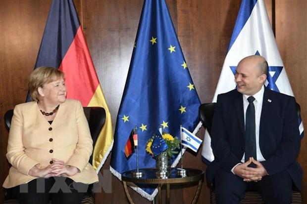 Thu tuong Merkel khang dinh Duc coi trong van de an ninh cua Israel hinh anh 1