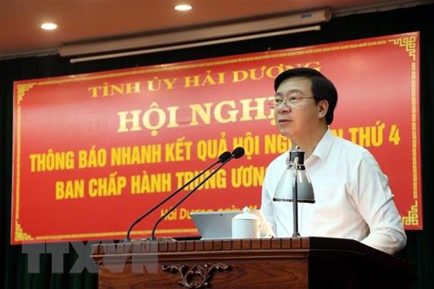 Hai Duong xay dung kich ban linh hoat de chu dong doi pho COVID-19 hinh anh 2