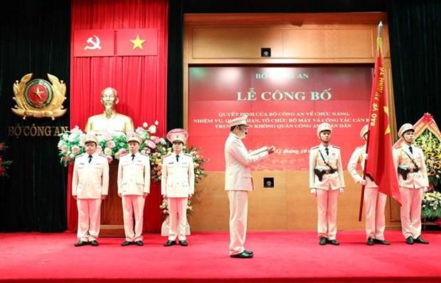 Ra mat Trung doan Khong quan Cong an nhan dan tai Ha Noi hinh anh 2