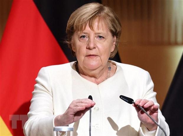 Ba Merkel keu goi doanh nghiep Duc da dang hoa hoat dong o chau A hinh anh 1