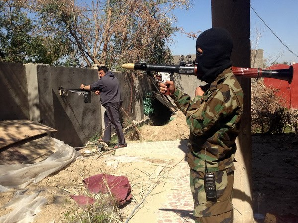 Iraq xac nhan phien quan IS da chiem toan bo thanh pho Ramadi hinh anh 1