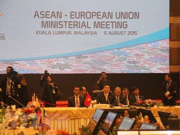 EU cam ket ho tro 170 trieu USD cho chuong trinh hop tac voi ASEAN hinh anh 1
