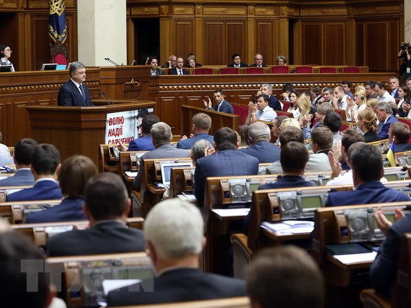 Ukraine de xuat cam dung ten goi Nga vi la