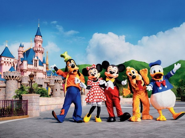 """Disneyland la """"con ga de trung vang"""" cua hang Walt Disney hinh anh 1"""