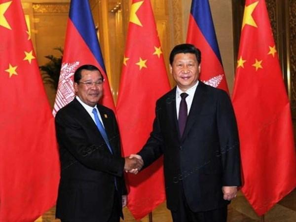 Trung Quoc va Campuchia tang cuong quan he doi tac chien luoc hinh anh 1