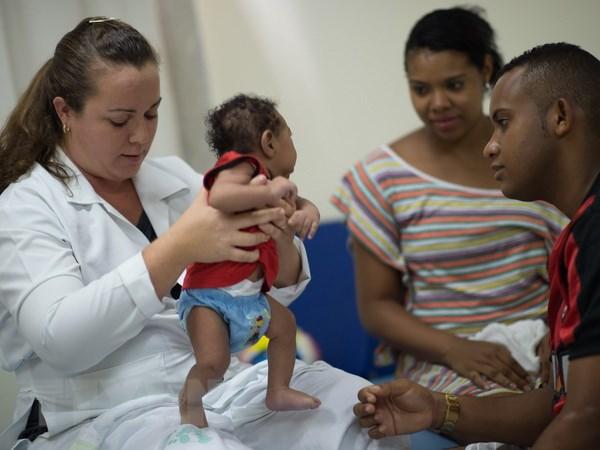 Virus Zika co the sinh soi trong nao cua cac thai nhi va nhau thai hinh anh 1