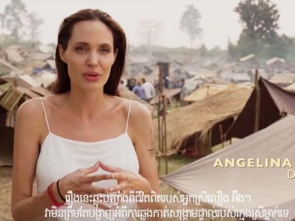 Phim ve che do Khmer Do cua Angelina Jolie se ra mat tai Angkor Wat hinh anh 1