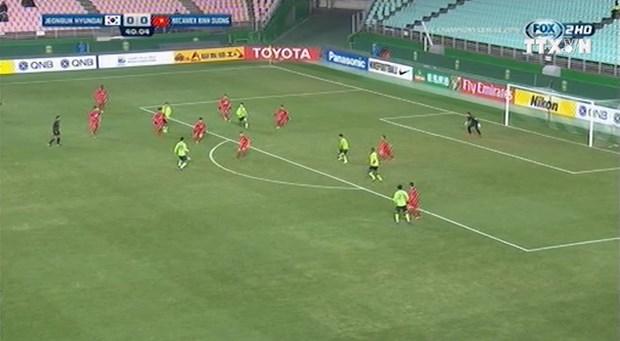 Thua Jeonbuk, Binh Duong co the phai chia tay AFC Champions League hinh anh 1