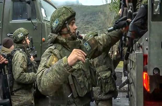 Nga, Armenia va Azerbaijan keu goi hop tac khoi phuc khu vuc xung dot hinh anh 1